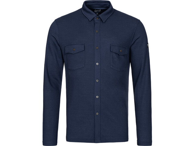 super.natural Wayfarer Shirt avec poche Homme, blue iris